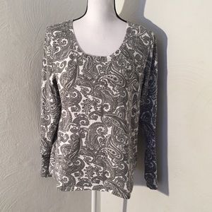 Rafaella Sport Women's Size XL Long Sleeve Top